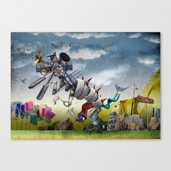monster II Canvas Print