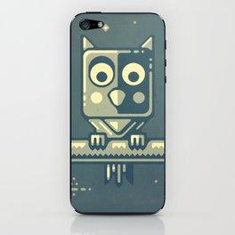Night owl graphic design iPhone Skin