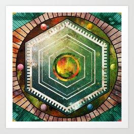 Cosmos MMXIII - 01 Art Print
