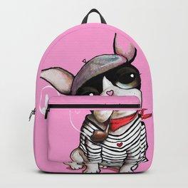 French Bulldog Sailor Backpack