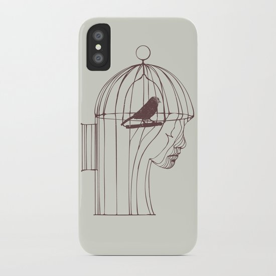 Be Alone iPhone Case