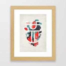 Grimace ! Framed Art Print