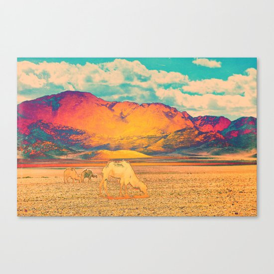Dull To Pause. Canvas Print