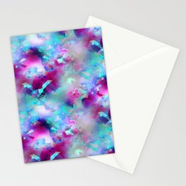 Dancer Abstracted 2 Stationery Cards