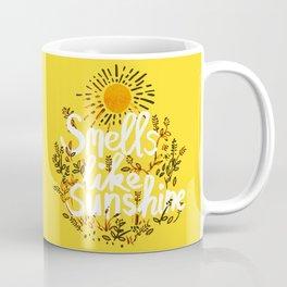 Smells Like Sunshine Coffee Mug