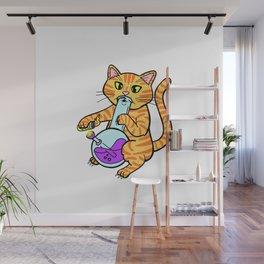 chill it's catnip Wall Mural