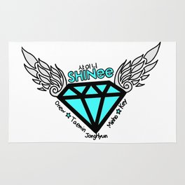 jonghyun logo Rug