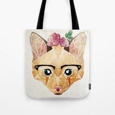 miss cat  Tote Bag