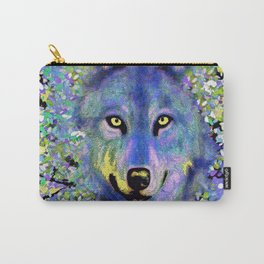 WOLF IN THE GARDEN Carry-All Pouch