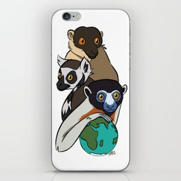 World Lemur Day 2017 iPhone Skin