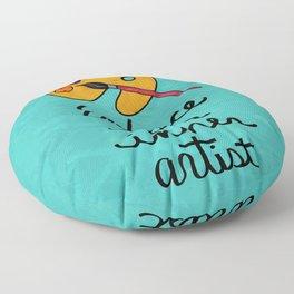 Embrace Your Inner Artist Floor Pillow