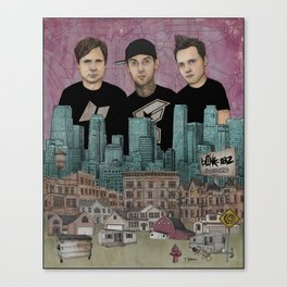 Blink 182 - Neighborhoods Canvas Print