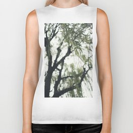 Beneath the Willow Tree Biker Tank