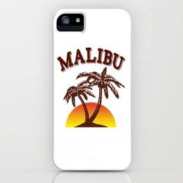 Malibu rum iPhone Case
