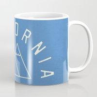 california Mugs featuring California by Roland Lefox