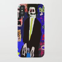 basquiat iPhone & iPod Cases featuring My Basquiat by Robert Morris