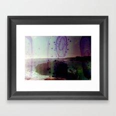 Pelican Rock Framed Art Print
