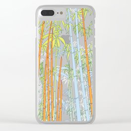 Bamboo XX Clear iPhone Case
