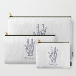 Unfuck You. Gesture. Т-shirt Carry-All Pouch