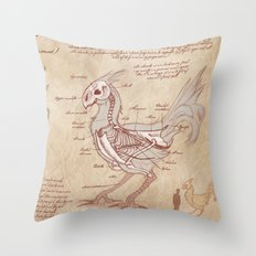Anatomy of the Chocobo Throw Pillow
