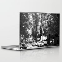 nyc Laptop & iPad Skins featuring nyc by ebadenlasar