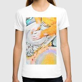 Hands of the ceramist craftsman T-shirt