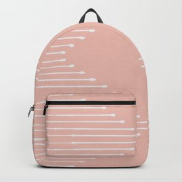 Geo / Blush Backpack