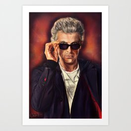 Doctor Funkenstein Art Print