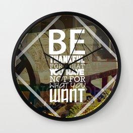 Be.. Wall Clock