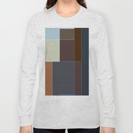 Geometric Abstract Long Sleeve T-shirt