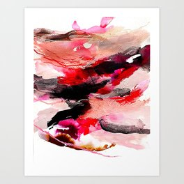 Day 63: Don't let aesthetics distract from true and invisible beauty. Art Print