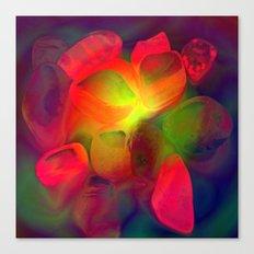lluminated Pebbles Canvas Print