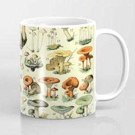 Types of mushroom and toadstool fungi - Adolphe Millot champignon-B Coffee Mug
