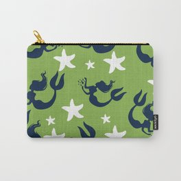 Mermaids and Starfish Carry-All Pouch