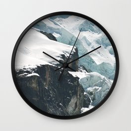 Climate change is as close as you can see Wall Clock