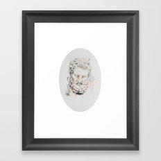Statue of Spring II Framed Art Print