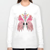 parrot Long Sleeve T-shirts featuring parrot by Manoou
