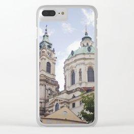 Church in Prague Clear iPhone Case