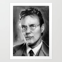 ben giles Art Prints featuring giles by dollface87