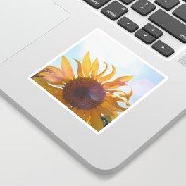 Sunflower Sticker