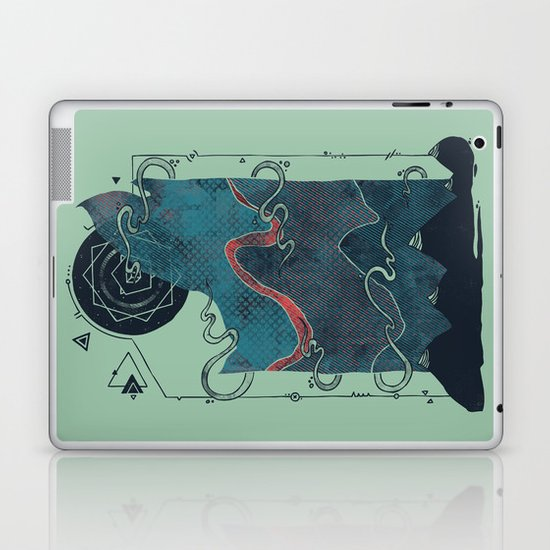 Northern Nightsky Laptop & iPad Skin