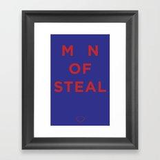 M_N of Steal Framed Art Print