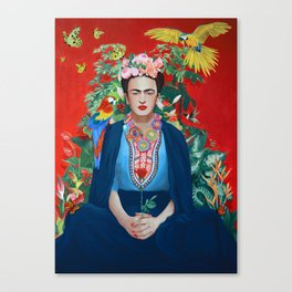 Saint Frida Canvas Print