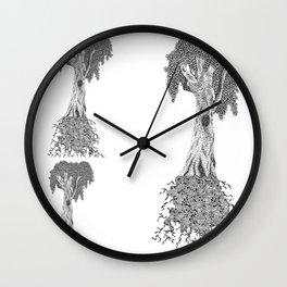 Eucalyptus Tree Wall Clock