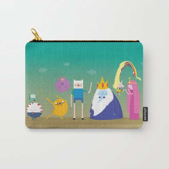 Adventure time characters Carry-All Pouch