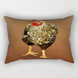 Ms Hen Rectangular Pillow
