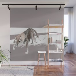 Totem Russian Wolf Wall Mural