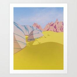 Day 0411 /// Fieldish Art Print