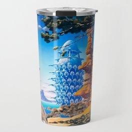 Desert Blue Travel Mug