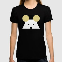 Peek-a-Boo Mouse with Gold Ears T-shirt